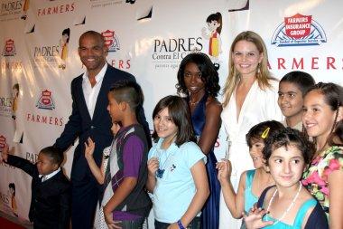 Amaury Nolasco & Jennifer Morrison & Cancer Kids