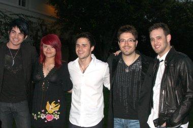 Adam Lambert, Allison Iraheta, Kris Allen, Danny Gokey, and Matt Giraud