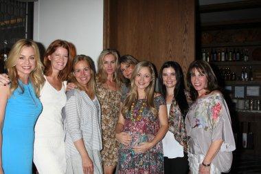 Jessica Collins, Michelle Stafford, Genie Francis, Eileen Davidson, Jess Walton, Marcy Rylan, Jessica Heap, Kate Linder