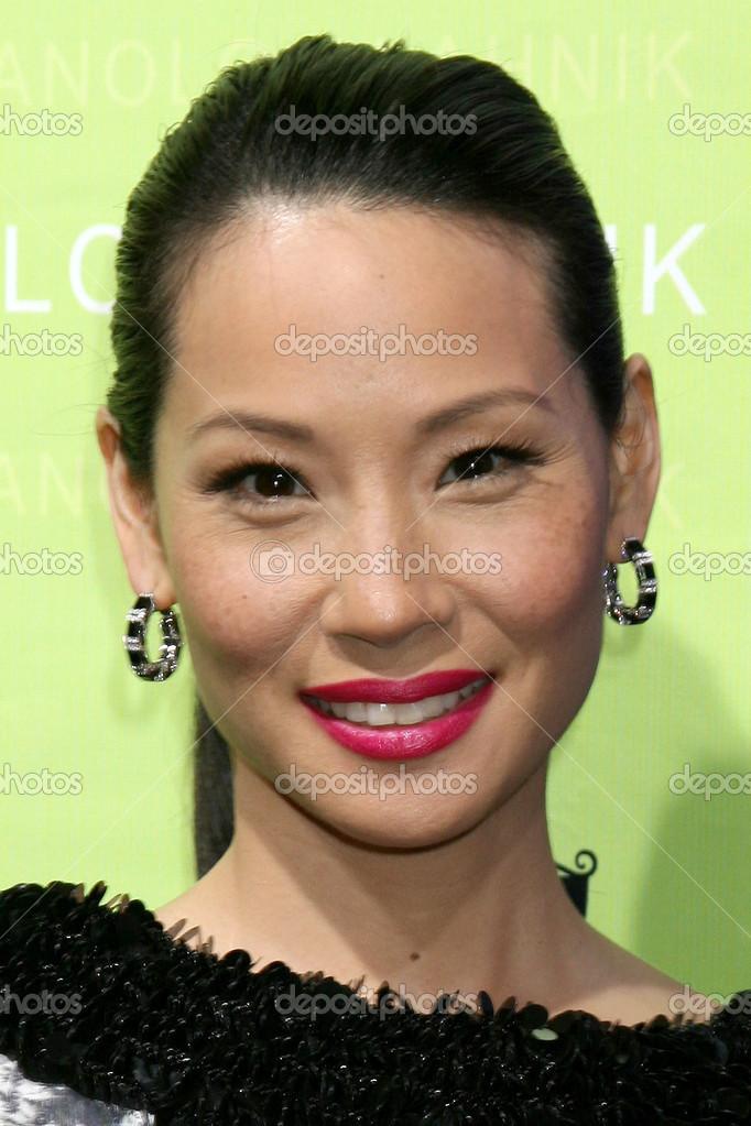 Lucy Liu Stok Editoryel Fotoraf Jeannelson 12925617