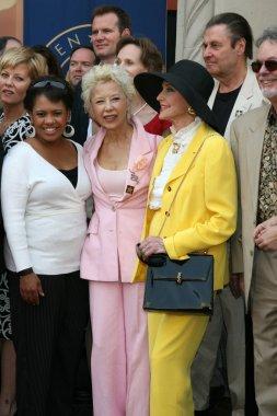 Chandra Wilson, France Nuyen, and Anne Jeffreys