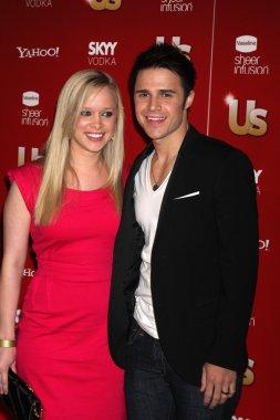Kris Allen and Wife