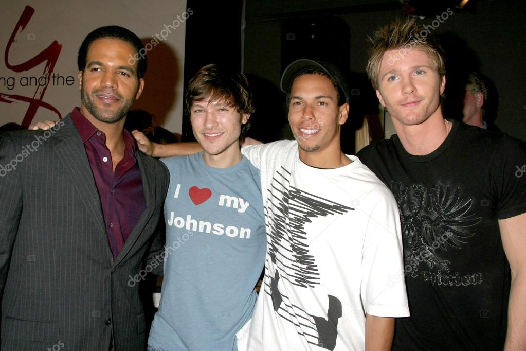 Kristoff St John Michael Graziadei Bryton Mcclure And Thad L Stock Editorial Photo C Jean Nelson 12932633