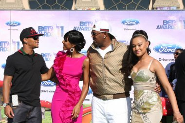 Romeo Miller, Kelly Rowland, Cymphonique Miller, Master P