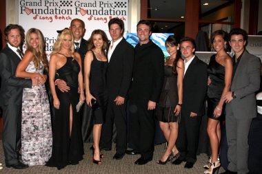 AJ Buckley & Date, Jenna Jameson, Tito Ortiz, Michael Trucco & Wife, Daniel Goddard, Frankie Muniz & Date, Kevin Jonas & wife