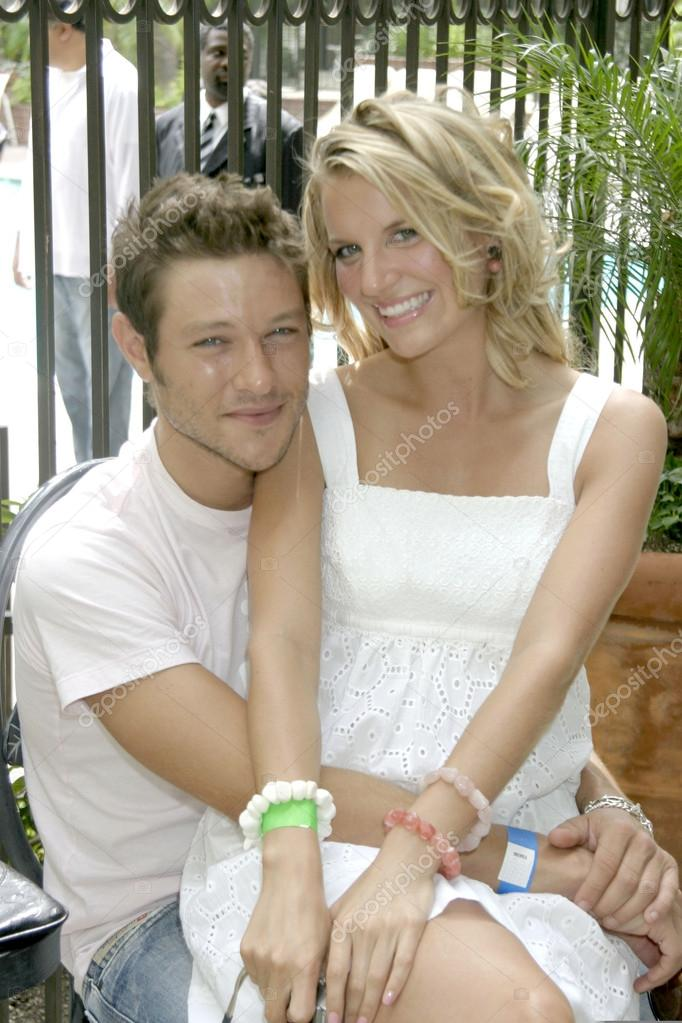 Michael Graziadei His Girlfriend Heather Stock Editorial Photo C Jean Nelson 12968935