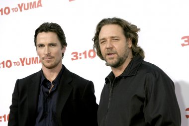 Christian Bale & Russell Crowe