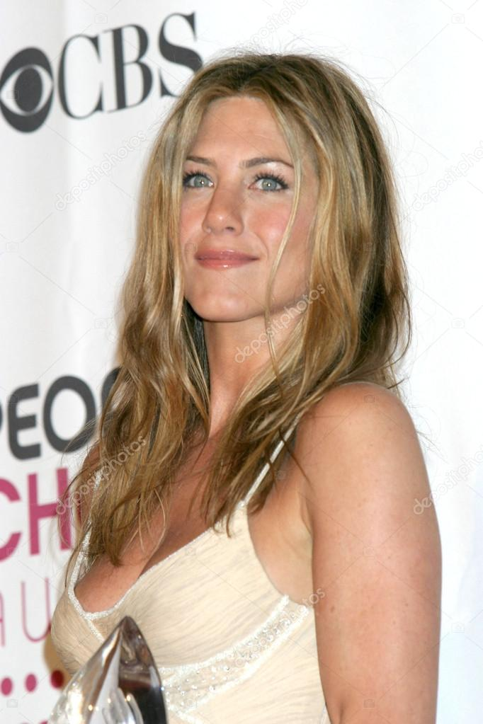 Jennifer Aniston at the 2007 's Choice Awards at Shrine Auditorium in Los Angeles, CA on January 8, 2007 stock vector