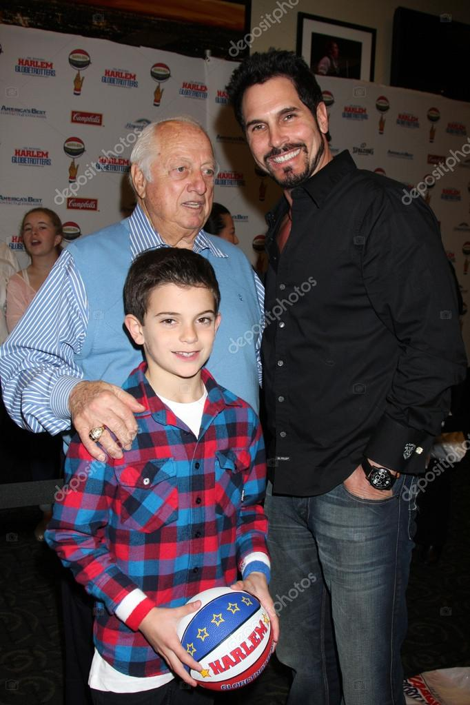 Tommy Lasorda With Don Diamont Son Stock Editorial Photo C Jean Nelson 12979261