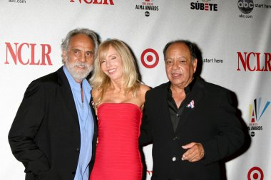 Tommy & Shelby Chong, with Cheech Marin