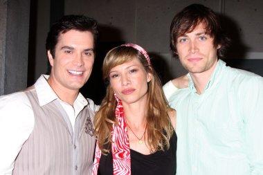 Rick Hearst, Sarah Brown, and Zach Conroy
