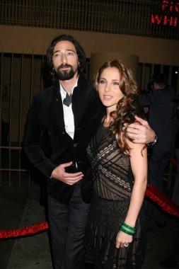 Adrien Brody & Eisa Pataky