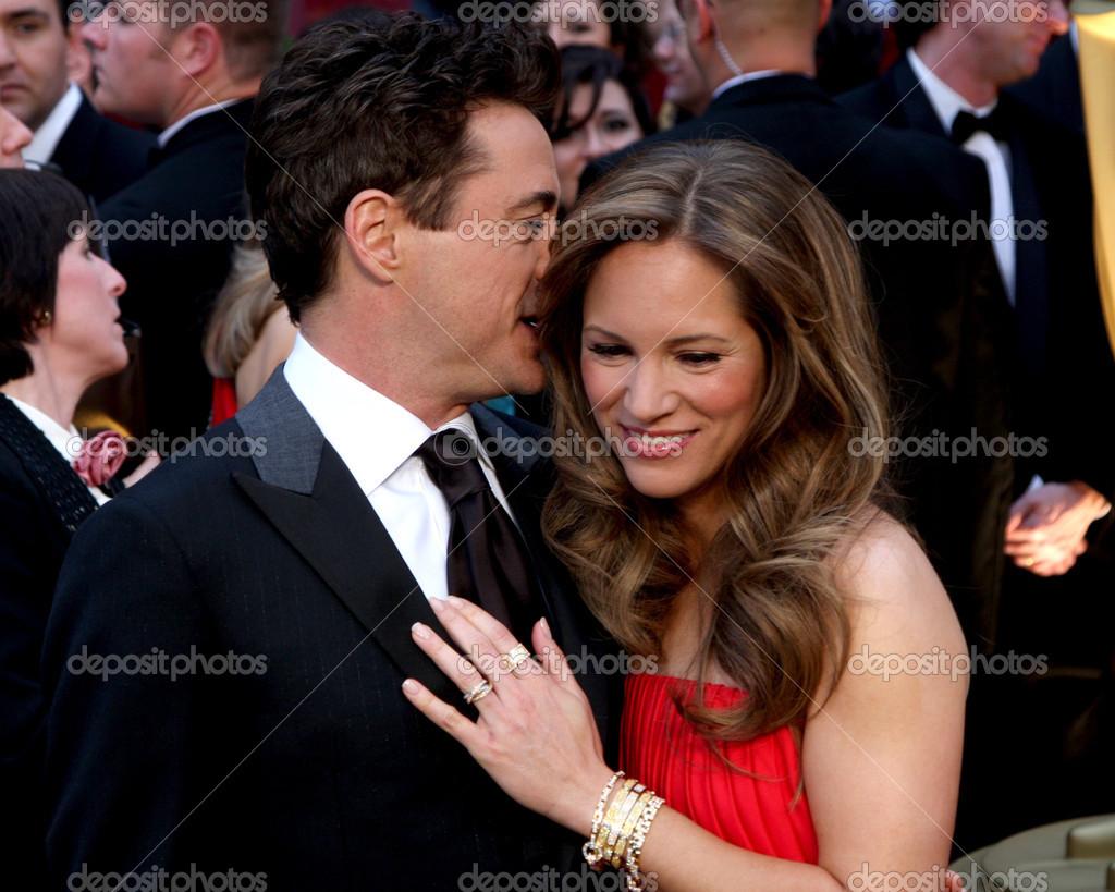 Robert Downey Jr & Wife Susan Downey – Stock Editorial ...