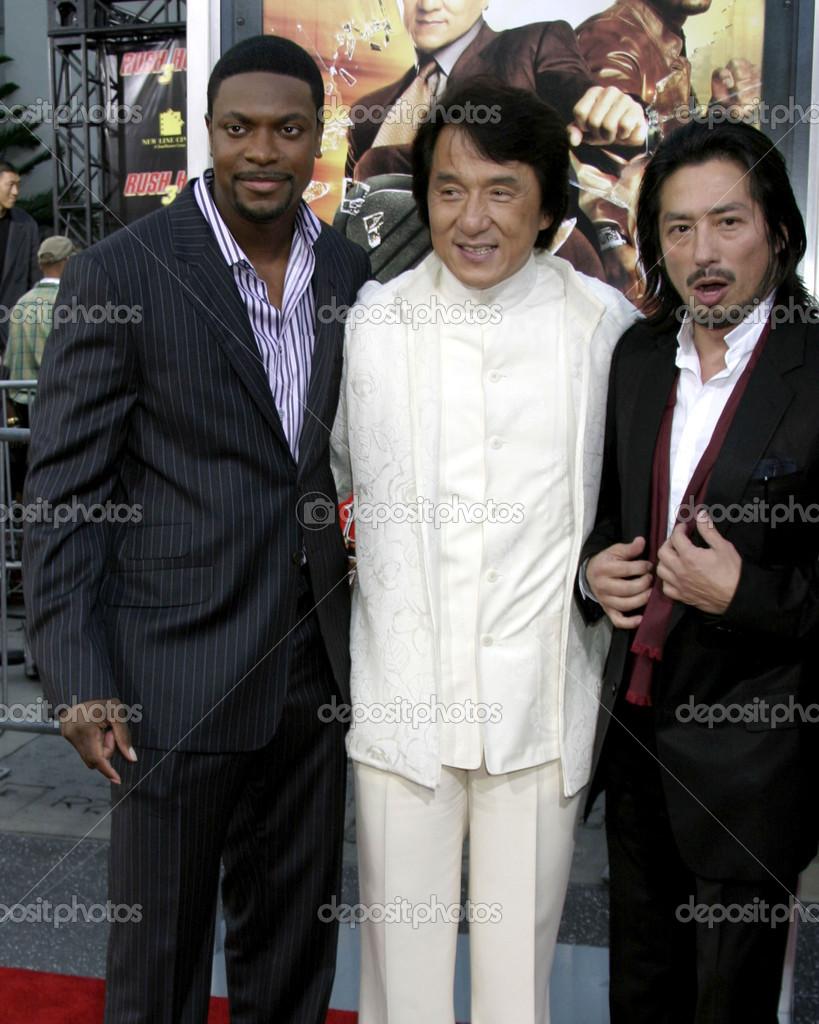Chris Tucker Jackie Chan Stock Editorial Photo