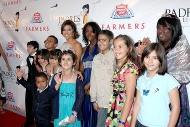 Eva Longoria-Parker & Cancer Kids