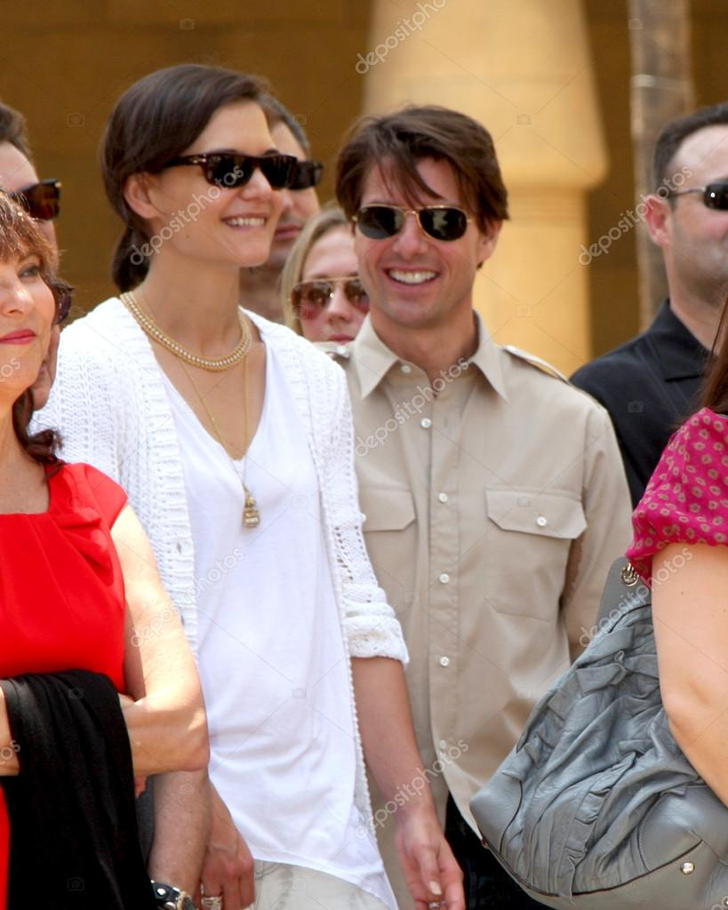fe06f9ec9e81 Katie Holmes   Tom Cruise – Stock Editorial Photo © Jean Nelson ...