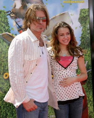 Billy Ray Cyrus & daughter Miley Cyrus