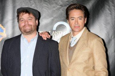 Robert Downey Jr, Zach Galifianakis
