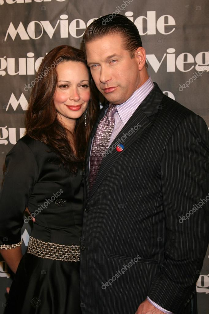 Stephen Baldwin with nice, Wife Kennya Baldwin