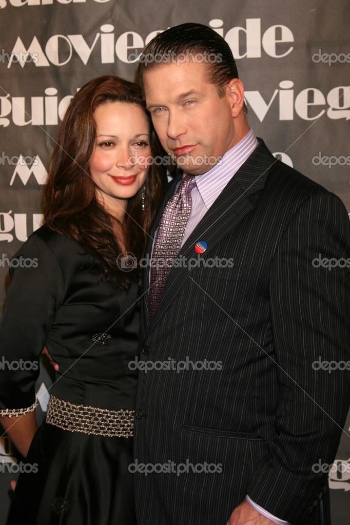 Stephen Baldwin with nice, Wife Kennya Baldwin