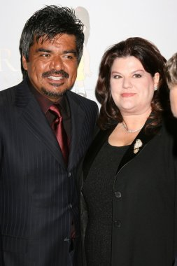 George Lopez and Wife Ann