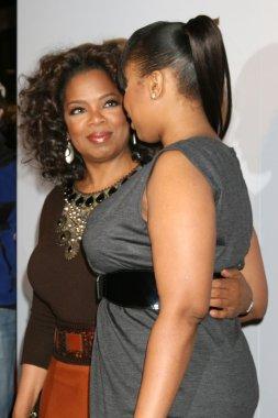 Oprah Winfrey & Jennifer Hudson