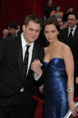 Michael Buble & Emily Blunt