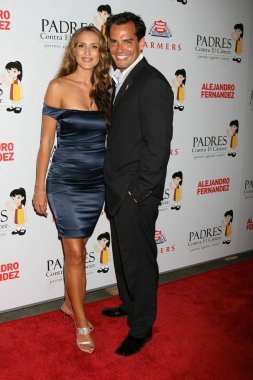 Cristian de la Fuente & Wife