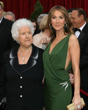 Celine Dion & Mother