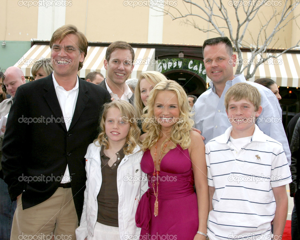 Kristin Chenoweth & her brother, his family and.Aaron ...