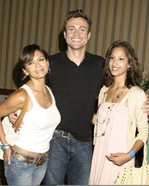 Nia Peeples, Daniela Goddard, and Christel Khalil
