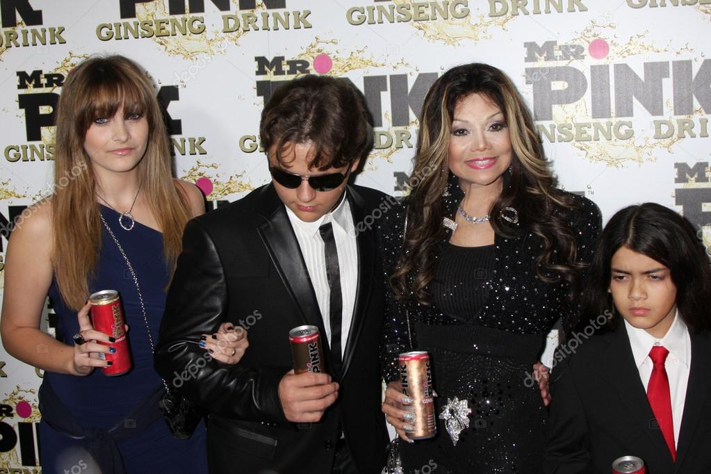 Paris Jackson, Prince Michael Jackson, LaToya Jackson, Blanket Jackson