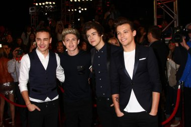Liam Payne, Niall Horan, Harry Styles and Louis Tomlinson