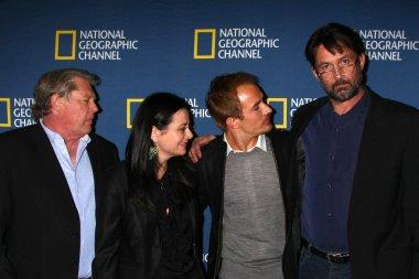 Graham Beckel, Geraldine Hughes, Jesse Johnson and Billy Campbell