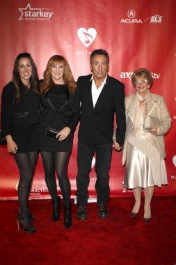 Jessica Springsteen, Patti Scialfa, Bruce Springsteen, Adele Springsteen