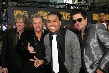 Rascal Flatts with Chris Brown