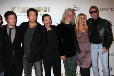 Norman Reedus, Sean Patrick Flannery, Clifton Collins Jr, Billy Connolly, Julie Benz, Peter Fonda