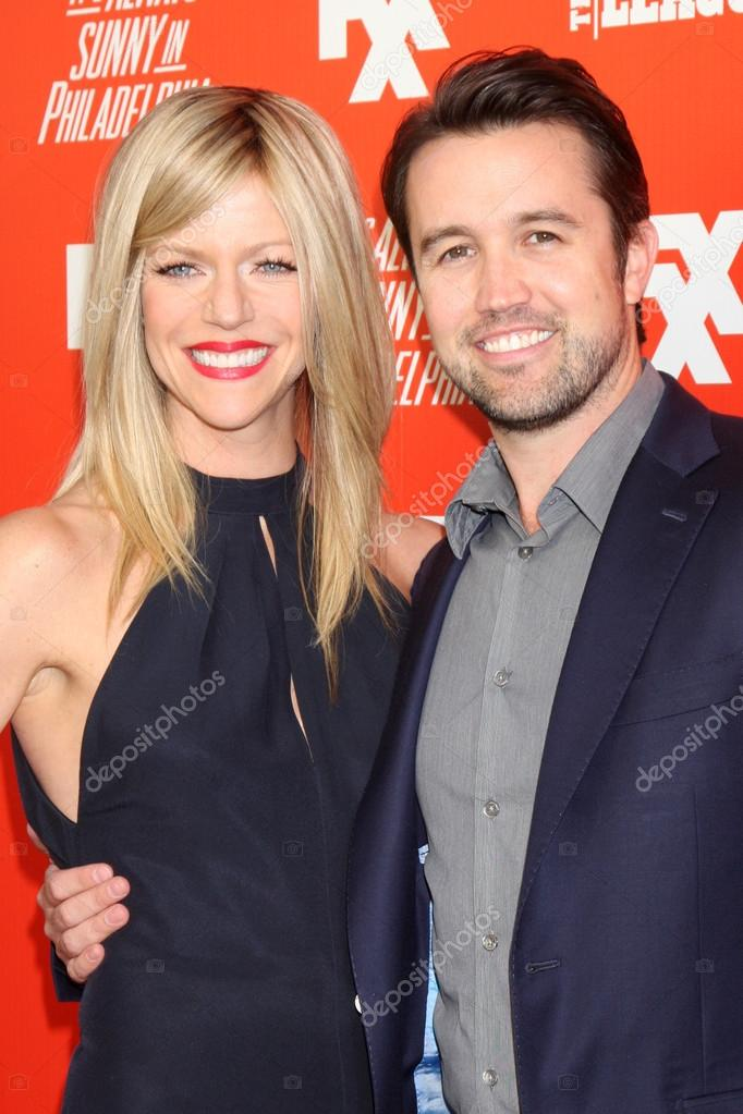 Rob mcelhenney dating kaitlin olson