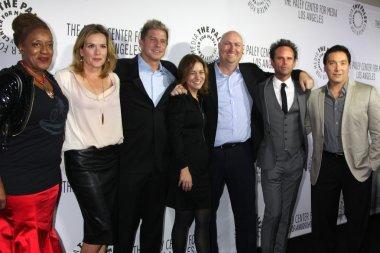 Shield Cast - CCH Punder, Catherine Dent, Kenny Johnson, Cathy Ryan, Shawn Ryan, Walton Goggins, Benito Martinez