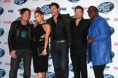 Keith urban, jennifer lopez, harry connick Jr., ryan seacrest, randy jackson