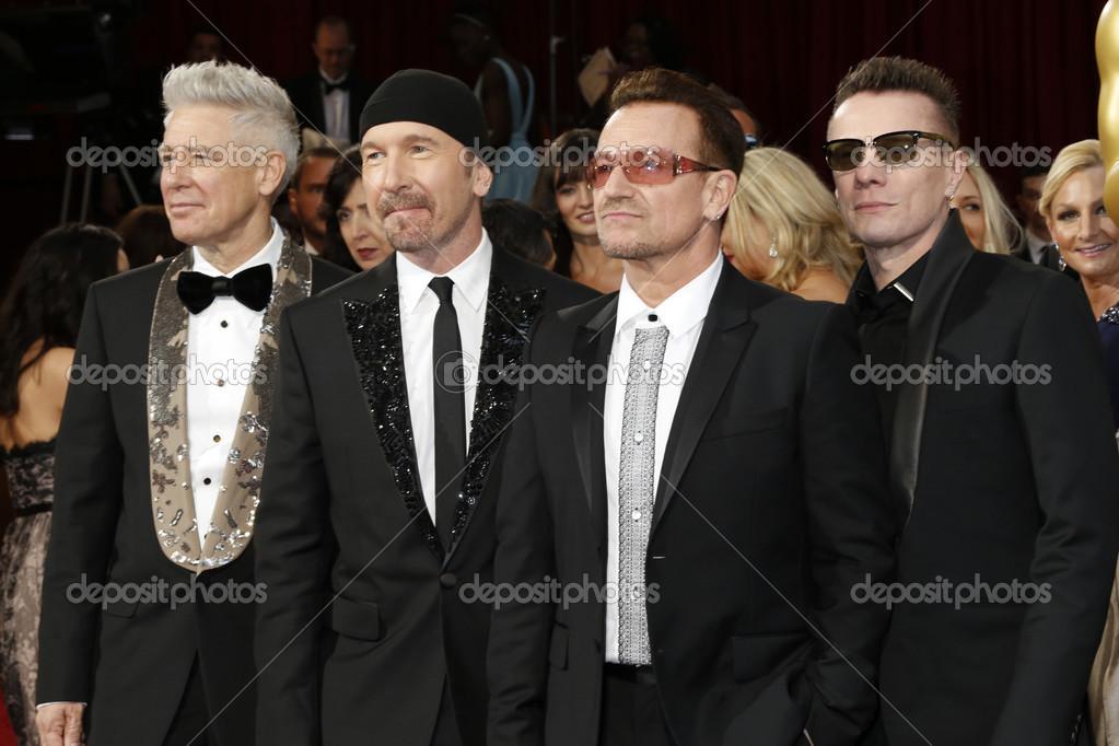 The Edge, Adam Clayton, Bono, Larry Mullen Jr  – Stock