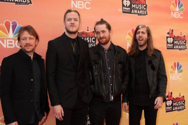 Ben McKee, Dan Reynolds, Daniel Platzman and Wayne Sermon, Imagine Dragons