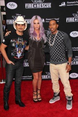 Brad Paisley, Kesha, Ludacris
