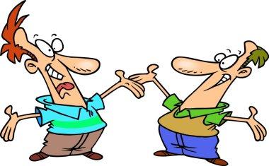 Cartoon Male Friends