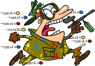 Cartoon Paintball