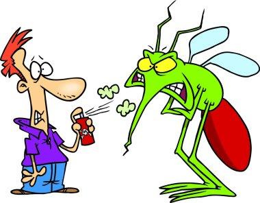 Cartoon Mosquito Repellent