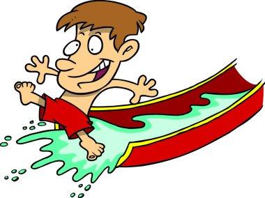 Cartoon Water Slide