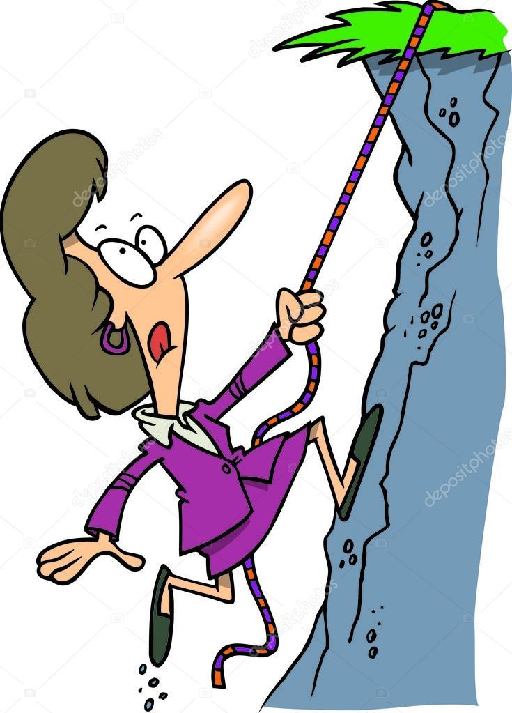 clipart of a businesswoman mountain climbing stock vector rh depositphotos com mountain climbing clipart mountain climbing pictures clip art