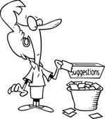 kreslený podnikatelka návrh box