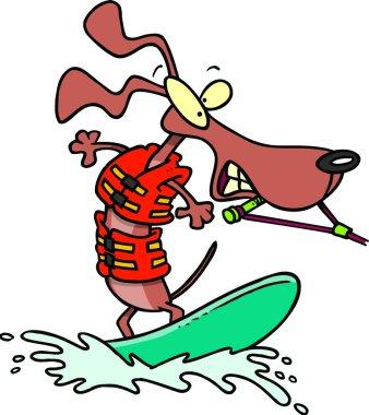 Cartoon Dog Wakeboard